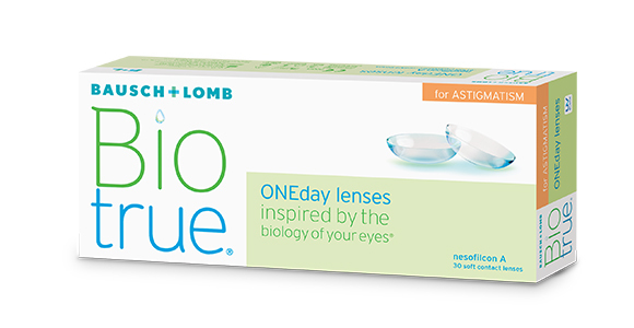 Biotrue® ONEday for Astigmatism